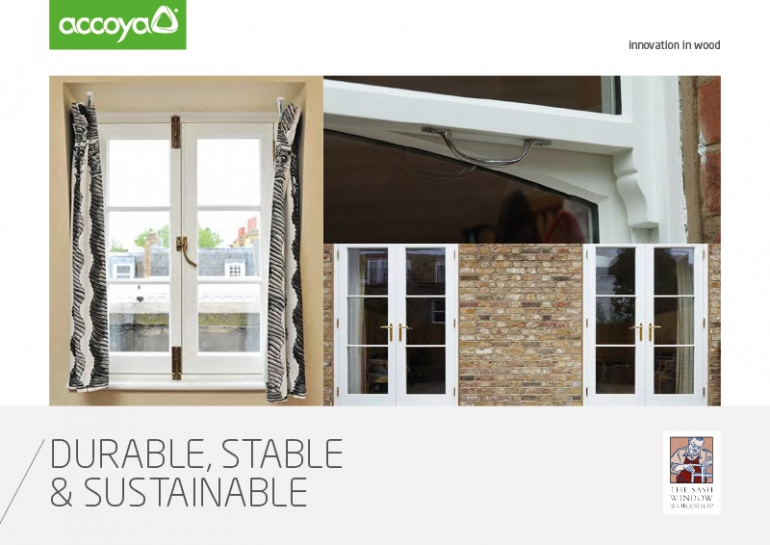 Accoya - Durable, Stable & Sustainable