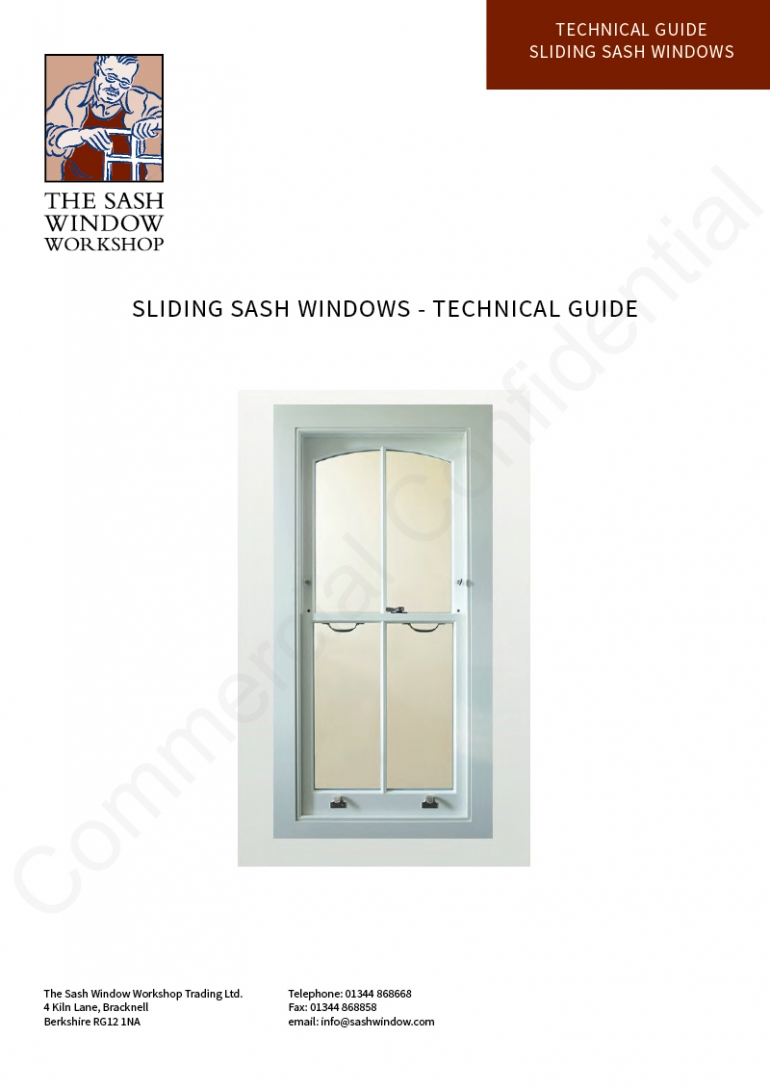 Sliding Sash Windows - Technical Guide