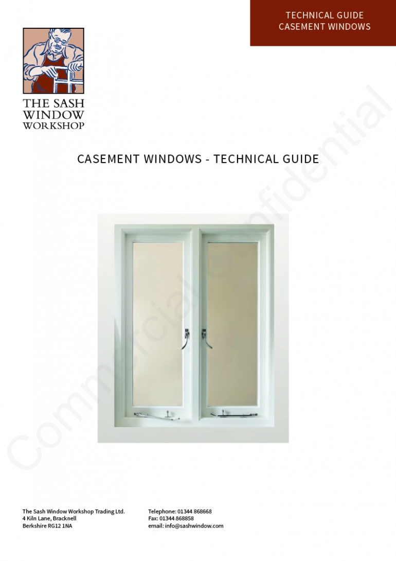 Casement Windows - Technical Guide